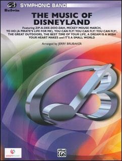 楽譜 ディズニーランドのテーマ音楽(380689/00-26776/輸入吹奏楽譜(T)/T:7:30/G4)
