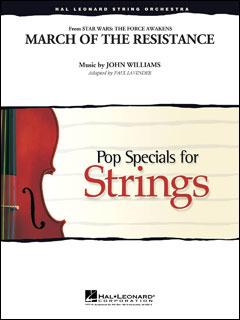 楽譜 マーチ・オブ・ザ・レジスタンス(「スター・ウォーズ/フォースの覚醒」より)(04491707/ストリング・オーケストラ/G3.5/輸入楽譜(T))