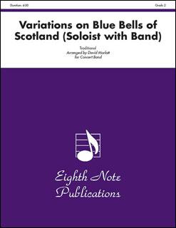 楽譜 スコットランドの釣り鐘草による変奏曲(81-CB2251 /管楽器ソロと吹奏楽/輸入吹奏楽譜(T)/T:4:00/G3)