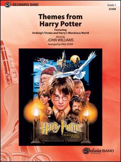 楽譜 「ハリー・ポッターと賢者の石」テーマ(156172/00-CBM01024/輸入吹奏楽譜(T)/G1/T:2:11)