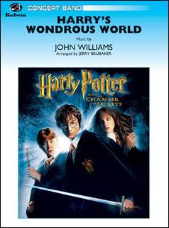 楽譜 ハリーの不思議な世界(「ハリー・ポッターと秘密の部屋」主題曲)(896085/00-CBM03001/輸入吹奏楽譜(T)/G3/T:3:25)