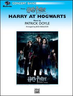 楽譜 ハリー・アット・ホグワーツ(「ハリー・ポッターと炎のゴブレット」よりメドレー)(24777/輸入吹奏楽譜(T)/G3)
