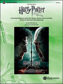 楽譜 「ハリー・ポッターと死の秘宝 PART2」メドレー(38343/輸入吹奏楽譜(T)/G2/T:5:30)