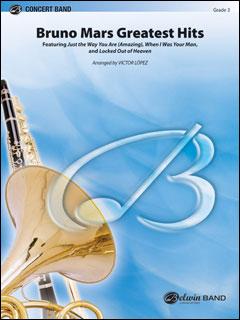 楽譜 ブルーノ・マーズ/ブルーノ・マーズ・メドレー(43141/輸入吹奏楽譜(T)/G3/T:5:15)