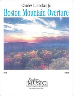 楽譜 ブッカーJr./ボストン・マウンテン序曲(S875/輸入吹奏楽譜(T)/T:6:00)
