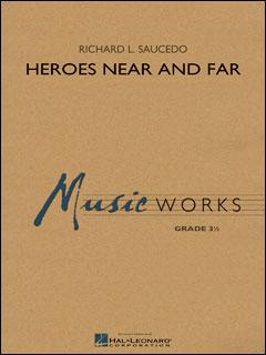 楽譜 サウセード/英雄は近く遠く(ヒーローズ・ニア・アンド・ファー)(04004284/輸入吹奏楽譜(T)/G3/T:9:20)