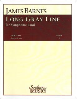 楽譜 バーンズ/ロング・グレイ・ライン(長い灰色の線)(03777753/S604/輸入吹奏楽譜(T)/G4/T:6:00)