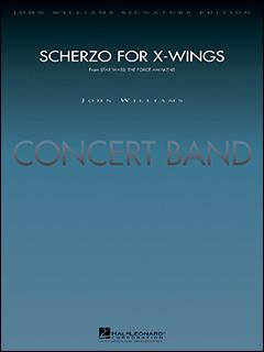 楽譜 X-ウィングのためのスケルツォ(「スター・ウォーズ/フォースの覚醒」より)(04004661/輸入吹奏楽譜(T)/G5/T:2:30)