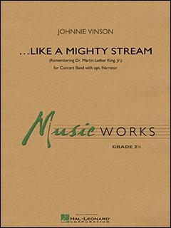 楽譜 ヴィンソン/ライク・ア・マイティ・ストリーム(ナレーターと吹奏楽のための)(04004598/輸入吹奏楽譜(T)/G2/T:5:20)