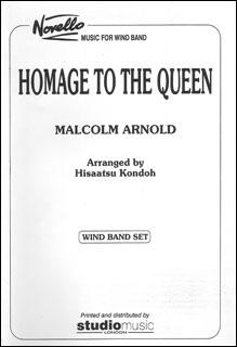 楽譜 アーノルド/女王への忠誠(【834】/M-050-01305-1/輸入吹奏楽譜(T)/G5/T:17:00)
