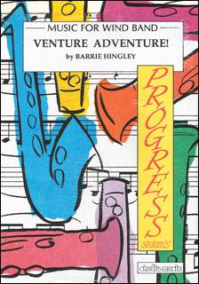 楽譜 ヒングレイ/ヴェンチャー・アドヴェンチャー(M-050-04036-1/輸入吹奏楽譜(T)/G3/T:2:10)