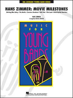 楽譜 ハンス・ジマー:ムービー・マイルストーンズ(【2056414】/04005026/輸入吹奏楽譜(T)/G3/T:5:45)