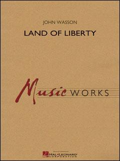 楽譜 自由の大地(【1952120】/04004751/輸入吹奏楽譜(T)/G4/T:5:45)