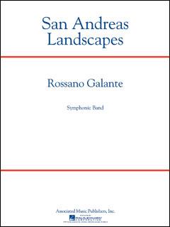 楽譜 ガランテ/サンアンドレアスの風景(【1953692】/50600602/輸入吹奏楽譜(T)/G5/T:6:45)