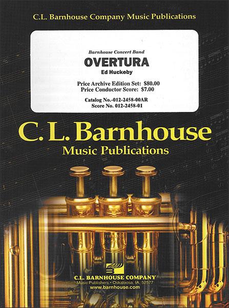 楽譜 ハックビー/オーバーチュラ(【403】/012-2458-00/輸入吹奏楽譜(T))