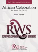 楽譜 アフリカン・セレブレーション(サファリ・フォー・バンド)/ジャスティン・ハーデン作曲(輸入吹奏楽譜(T))