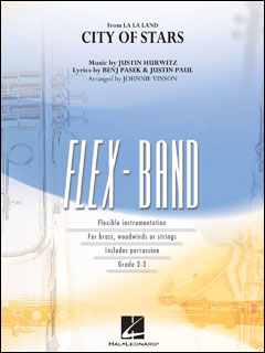 楽譜 シティ・オブ・スターズ (「ラ・ラ・ランド」より)(フレックスバンド(輸入吹奏楽譜)(T)/G2.5)