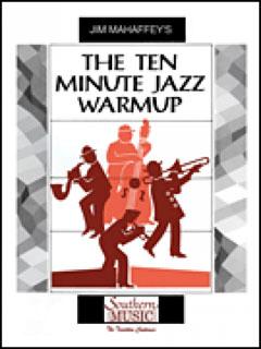 楽譜 MUJ 418 ジャズビッグバンドのための10分間ウァームアップ【10-Minute Jazz Warmup】(ジャズアンサンブルベスト/M8(輸入楽譜)/G3)