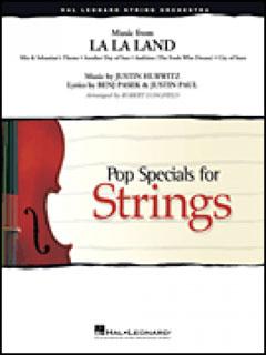 楽譜 MSOP 220 映画「ラ・ラ・ランド」メドレー(ストリング・オーケストラ・ポピュラー・ベスト/M8(輸入・弦楽譜))