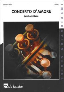 楽譜 ヤコブ・デ=ハーン /愛の協奏曲(【1805】/DHP0950624-010/44002346/輸入吹奏楽譜(T)/G3/T:7:30)