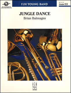 楽譜 バルメイジズ/ジャングル・ダンス(【1231287】/B1476/輸入吹奏楽譜(T)/G2.5/T:3:00)