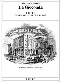 楽譜 ポンキエッリ/歌劇「ラ・ジョコンダ」 【Vocal Score】(CP04486405/50489274/ヴォーカル・スコア (イタリア語)/輸入楽譜(T))
