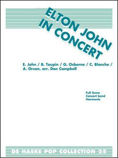 楽譜 エルトン・ジョン・メドレー(【1896】/DHP0981143-010/輸入吹奏楽譜(T)/G3/T:7:20)