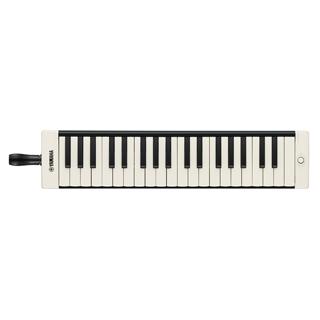 ヤマハ YAMAHA 大人のピアニカ P-37EBK ブラック 鍵盤数:37 音域:f~f'''(同梱品:吹き口、演奏用パイプ、取扱説明書、ソフトケース(ストラップ付き) 鍵盤ハーモニカ)
