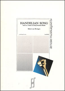 楽譜 ベーリンゲン/ヘンデルの歌 (Handelian Song)(輸入吹奏楽譜(T)/G2/T:3:59)