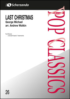 楽譜 ラスト・クリスマス(【192023】/0377-98-010S/輸入吹奏楽譜(T)/G3/T:3:00)