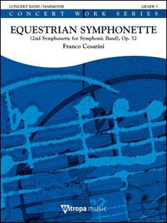 楽譜 チェザリーニ/騎手のシンフォニエッタ (小交響曲 第2番 Op. 52)(輸入吹奏楽譜(T)/G5/T:12:00)