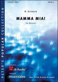 楽譜 マンマ・ミーア!(【1105-04-010MS】/219202/輸入吹奏楽譜(T)/G4/T:7:00)