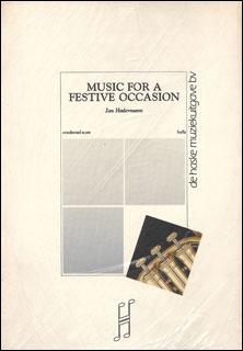 楽譜 ハーデルマン/祝祭のための音楽(【DHP0870072-015/44004107】/1675/輸入吹奏楽譜(T)/G5/T:10:16)
