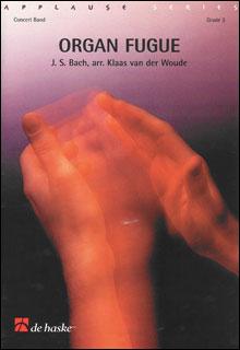 楽譜 J.S.バッハ/オルガン・フーガ(【780555】/DHP1012651-010/輸入吹奏楽譜(T)/G3/T:2:40)