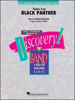 楽譜 ブラックパンサー(【2134145】/04005553/輸入吹奏楽譜(T)/G1.5/T:2:50)