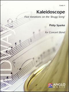 楽譜 スパーク/カレイドスコープ (万華鏡)(輸入吹奏楽譜(T)/G4/T:10:00)