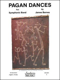 楽譜 バーンズ/ペーガン・ダンス(【2489】/03777847/S628/輸入吹奏楽譜(T)/G5/T:14:00)