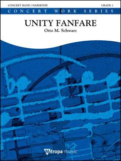 楽譜 シュワルツ/ユニティー・ファンファーレ(【993759】/1744-10-010M/44010852/輸入吹奏楽譜(T)/G3/T:3:47)