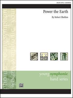 楽譜 シェルドン/大地の力(【2151571】/47275/輸入吹奏楽譜(T)/G3/T:4:40)