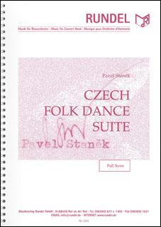 楽譜 スタニェク/チェコ民族舞踏組曲(【4297】/MVSR2310/輸入吹奏楽譜(T)/G5/T:8:20)