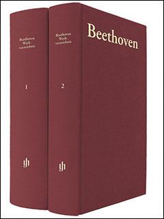 ベートーヴェン作品目録[2巻セット](HN 2207)