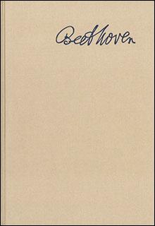ベートーヴェンの書簡 第1巻:1783-1807(HN 2603)