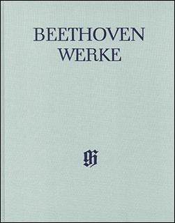 楽譜 ベートーヴェン全集 VI/1 室内楽曲集(布製)(HN 4172)