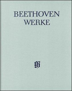 楽譜 ベートーヴェン全集 VII/1 ピアノ連弾のための作品集(布製)(HN 4232)