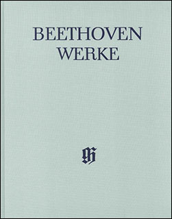 楽譜 ベートーヴェン全集 X/3 アリア、二重唱、三重唱作品集(布製)(HN 4382)