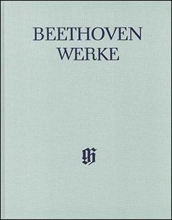 楽譜 ベートーヴェン全集 XI/1 スコットランド、アイルランド、ウェールズ民謡集(布製)(HN 4402)