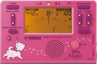 メーカー公式ショップ YAMAHA 18%OFF ヤマハ TDM-700DMRE ディズニー チューナーメトロノーム マリー 数量限定品