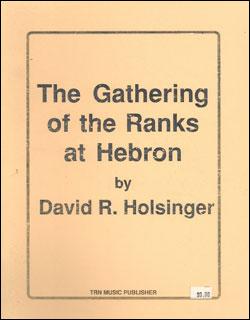 楽譜 ホルジンガー/ヘブロンにひとを集めて(【2850】/TRNCBGAT1/輸入吹奏楽譜(T)/G3.5/T:5:42)