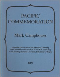 楽譜 キャンプハウス/パシフィック・コメモレーション(【188362】/TRN200009/輸入吹奏楽譜(T)/G5/T:7:52)