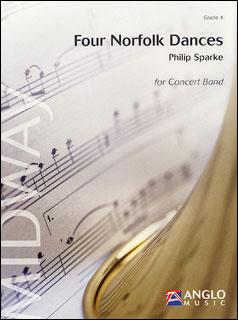 楽譜 スパーク/4つのノーフォーク舞曲(【188055】/AMP022-010/44004044輸入吹奏楽譜(T)/G4/T:13:00)